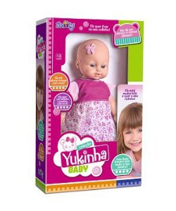 BONECA YUKINHA BABY REF:1044