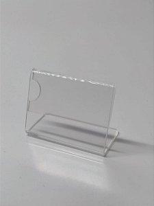 Porta etiquetas de Acrílico-7 x 4 cm