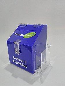 Caixa de sugestões - Pequena