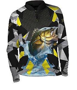 Camiseta de Pesca com Proteção UV Fast Sports FS001