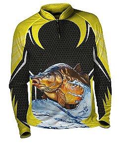 Camiseta de Pesca com Proteção UV Fast Sports FS002