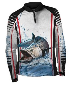 Camiseta de Pesca com Proteção UV Fast Sports FS003