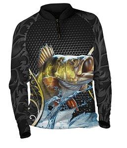 Camiseta de Pesca com Proteção UV Fast Sports FS010