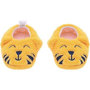 Pantufa Baby Tigre Amarelo Pimpolho (0-7m)