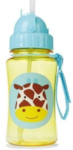 Garrafinha com Canudo Zoo Girafa Skip Hop (12m+)