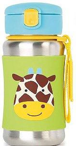 Garrafa Inox com Canudo Zoo Skip Hop Girafa