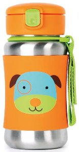 Garrafa Inox com Canudo Zoo Skip Hop Cachorro