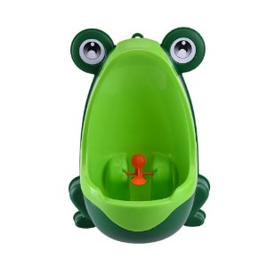 Penico Mictório Infantil Sapinho Verde Ebye