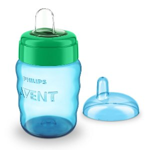 Copo Bico de Silicone Easy Sip Cup 260ml Azul Philips Avent (9m+)