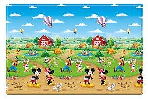 Tapete de Rolo Impermeável Hi Mickey Disney MD Girotondo