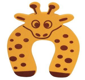 Trava Porta Salva Dedos Girafa Kit 5 Unidades