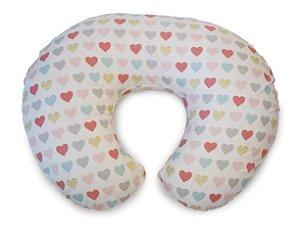 Almofada de Amamentação Boppy Hearts com Capa Removível Chicco (0m+)