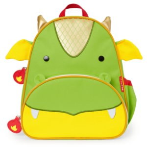 Mochila Costas Backpack Zoo Dragão Skip Hop