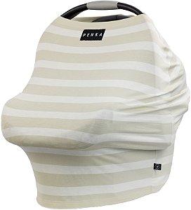 Capa Multifuncional Stripes para Bebê Conforto e Carrinho Penka Mulan
