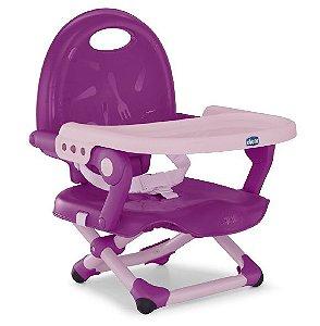 Assento Elevação Para Alimentação Pocket Snack Violeta Chicco (6m+)