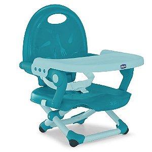 Assento Elevação Para Alimentação Pocket Snack Hydra Azul Chicco (6m+)