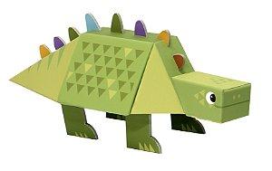 Dinossauro 3D de Montar Estegossauro Krooom
