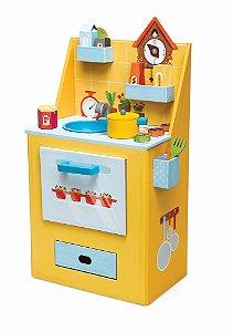 Cozinha Infantil 3D de Montar Chef Gourmet Krooom
