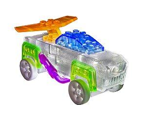 Blocos de Montar 3 em 1 com Luzes Clássico Luzes ZippyDo Laser Pegs