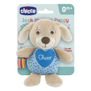 Pelúcia Musical Cachorro Jack First Love Chicco (0m+)
