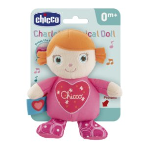 Pelúcia Musical Boneca Charlotte First Love Chicco (0m+)