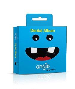 Dental Álbum Porta Dentinhos Azul Angie