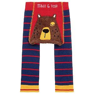 Calça Legging para Bebê Fluffy Urso Blade and Rose