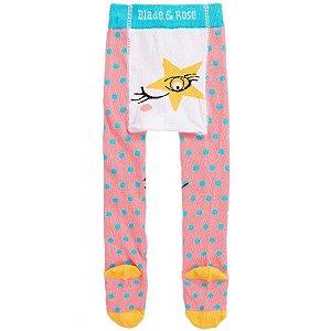 Meia Calça Legging para Bebê Estrela Blade and Rose