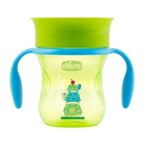 Copo 360° Perfect 200ml Verde Tartaruga Chicco (12m+)