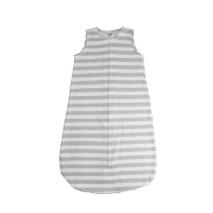 Saco de Dormir para Bebê Cinza Listrado Comtac Kids (0-6 meses)