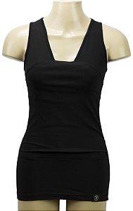 Camiseta Canguru Preta Penka Feminina GG - Bebês até 7kg