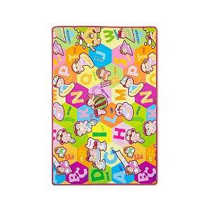 Tapete de Rolo Dupla Face Sopa de Letrinhas Comtac Kids 1,20m x 1,80m
