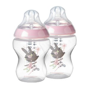 Kit Mamadeiras Closer To Nature 260ml Tommee Tippee Rosa (0m+)