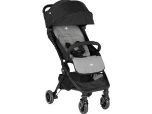 Carrinho de Bebê Pact Joie Preto e Cinza Ember - 3 Posições até 15kg