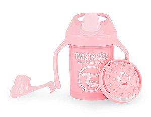 Copo de Treinamento com Alças 230ml Twistshake Rosa (4m+)