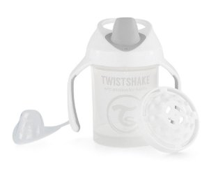 Copo de Treinamento com Alças 230ml Twistshake Branco (4m+)