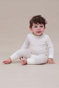 Pijama Bebê PJ Penka Branco (4-9m)