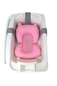 Almofada de Banho para Bebê Soft Rosa Kababy (0m+)