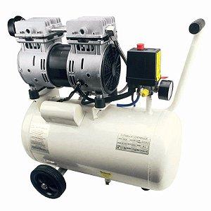 Compressor Ar 1HP Silencioso Odonto 220v Compbrasil 750-30l
