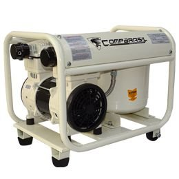 Compressor Ar 2HP Silencioso Odonto 220v Compbrasil 1500-12l