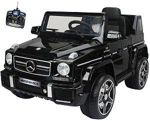 Jipe Mercedes AMG V8 Veículo 2x1 Infantil 12v Bel Fix 913300