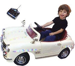Mini Veículo Carro Clássico Retrô 2x1 Som Luz Bel Fix 914500