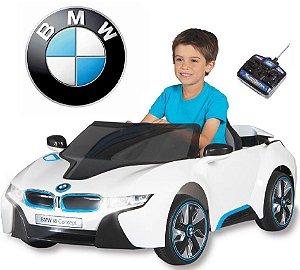 Mini Veículo BMW i8 C. Remoto 2x1 Elétrico 6V Bel Fix 926900