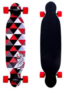 Skate Longboard Abec 7 Truck Alumínio Shield Red Nose 444100