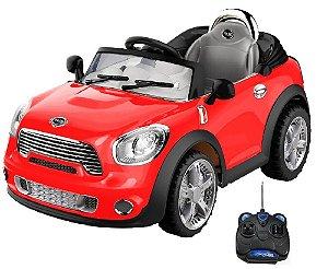 Mini Cooper 2x1 Veículo Carro  Elétrico Infantil C. Remoto Bel 912300