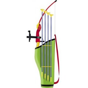 Arco Flecha Mira Laser Infravermelho Bolsa Aljava Infantil Bel Brink 490300