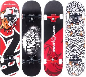 Skate Street Abec-5 Truck Alumínio Shape Maple Pro Red Nose 402290