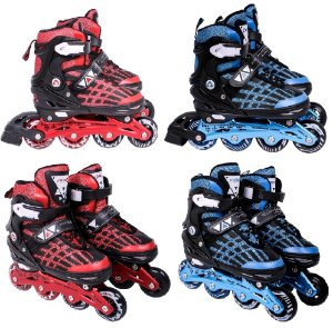 Patins 37, 38, 39, 40, 41 Inline Roller Abec 9 Chassi Alumínio Bel Sports 369300