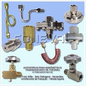 Acessórios para Manômetros - Pressostatos - Transmissores