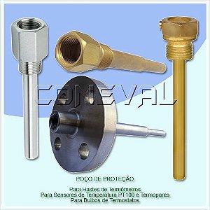 Poço Termométrico - Poço de Proteção para Termômetros